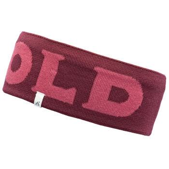 Devold Logo pannebånd Herre Rød