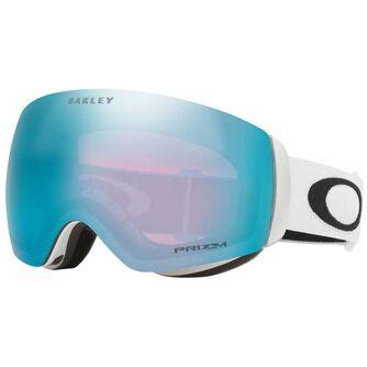 Flight Deck XM Matte White, Prizm Snow Sapphire alpinbriller