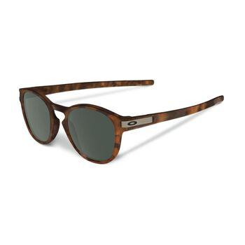Oakley Latch Dark Gray - Matte Brown Tortoise solbrille Herre Brun