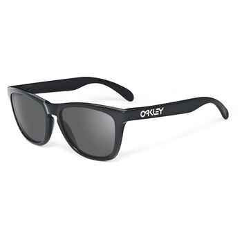Oakley Frogskins Grey - Polished Black solbriller Svart