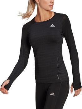 adidas Runner Long Sleeve teknisk genser dame Svart