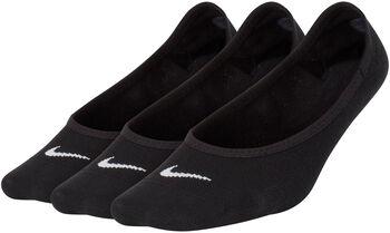 Nike Lightweight No-Show 3-pk teknisk sokk dame Svart