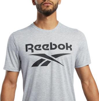 Reebok Workout Ready Supremium teknisk t-skjorte herre Grå