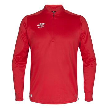 UMBRO UX Elite half zip treningsgenser junior Rød