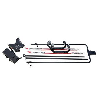Hamax Outback skiing kit - skisett til sykkelvogn Hvit