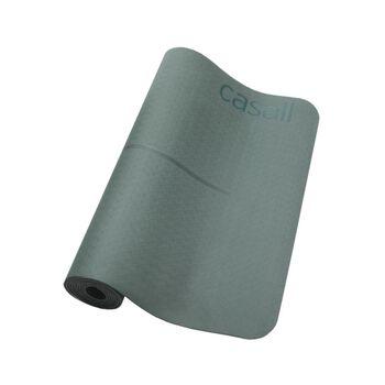 Casall Position 4 mm yogamatte Grønn