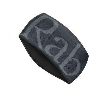 Rab Knitted Logo Headband pannebånd Herre Svart