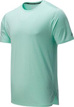 New Balance Q Speed Jacquard teknisk t-skjorte herre Grønn