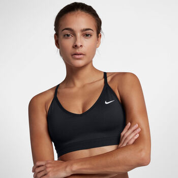 Nike Indy sports-BH dame Svart