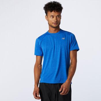 New Balance Impact Run teknisk t-skjorte herre Blå