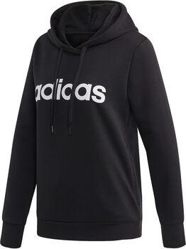 adidas Essentials Linear Pullover hettegenser dame Svart