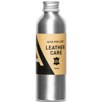 Alfa Leather Care 150 ml lærvoks Brun