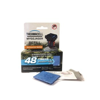 Thermacell Myggjager Refill Backpacker 48 timer Svart