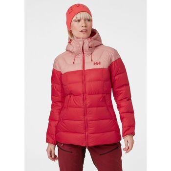 Helly Hansen Verglas Glacier dunjakke dame Rød