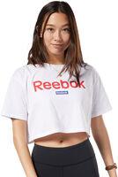 TE Linear Logo Crop t-skjorte dame