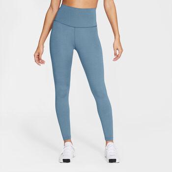 Nike Yoga 7/8 tights dame Blå