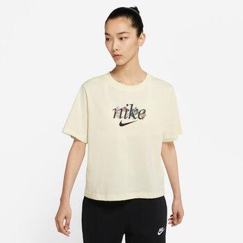 Nike Sportswear t-skjorte dame Beige