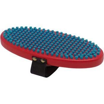 Swix T160O Brush Oval Fine Blue børste Rød