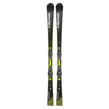 Head Supershape E-speed SW SF-PR BK alpinski Herre Svart