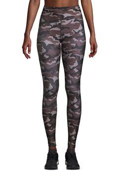 Casall Printed Sport tights dame Flerfarvet