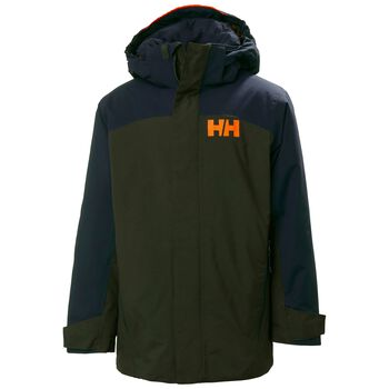 Helly Hansen Level skijakke junior Grønn