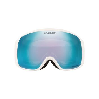 Oakley Flight Tracker XL White, Prizm Snow Sapphire Iridium alpinbriller Herre Hvit