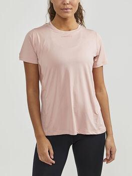 Craft Adv Essence Ss Tee teknisk t-skjorte dame Rosa
