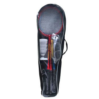 SportX  Tournament badmintonracket 4-pk Rød