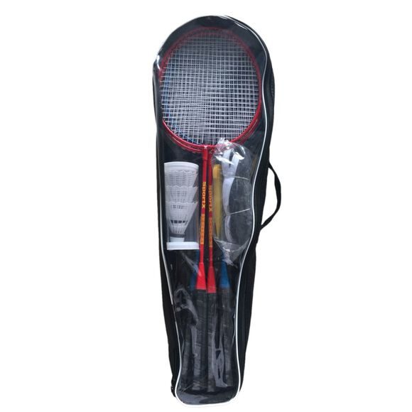 Tournament badmintonracket 4-pk