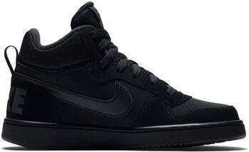 Nike Court Borough Mid fritidssko barn Svart
