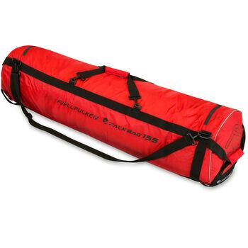 Fjellpulken Packbag trekk til pulk og transportbrett Rød