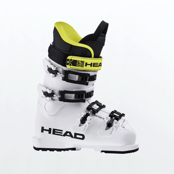 Head Raptor 70  White alpinstøvel junior Gul