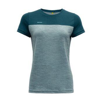 Devold Norang ull-t-skjorte dame Blå