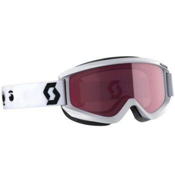 SCOTT Agent Enhancer alpinbrille junior Herre Hvit