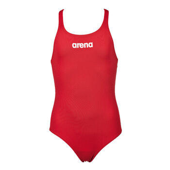 Arena Solid Swim Pro badedrakt barn/junior Rød