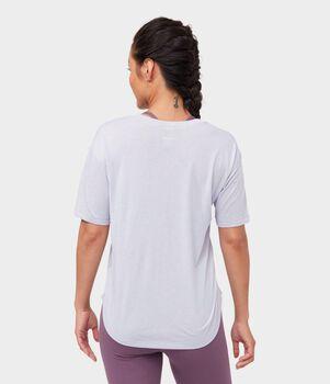 Manduka Enlightened teknisk t-skjorte dame Lilla