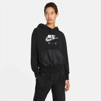 Nike Air hettegenser dame Svart