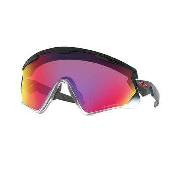 Oakley Wind Jacket 2.0 Prizm™ Road - Black Fade sportsbriller Herre Lilla
