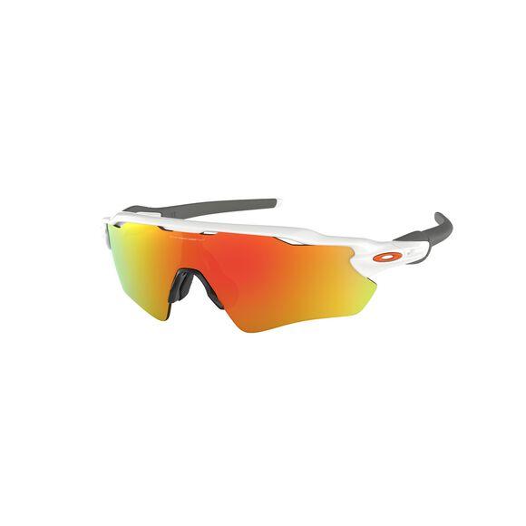 Radar EV Path Fire Iridium  - Polished White sportsbriller