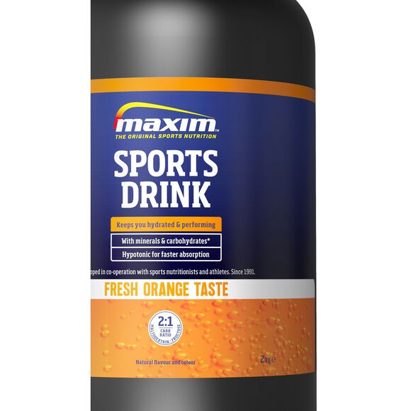 Sports Drink 2 kg Orange energidrikk
