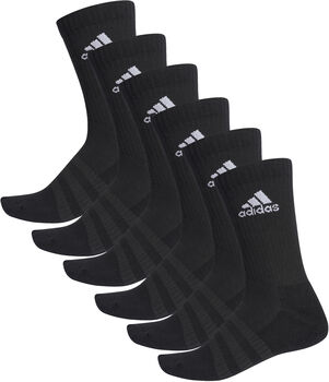 adidas Cush 6-pk tennissokk Herre Svart