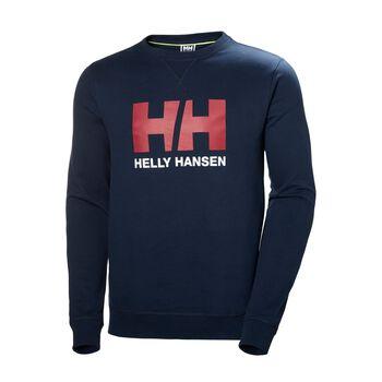 Helly Hansen HH Logo Crew genser herre Blå