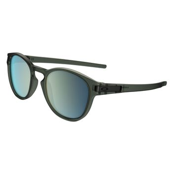 Oakley Latch Emerald Iridium - Matte Olive Ink solbriller Herre Svart