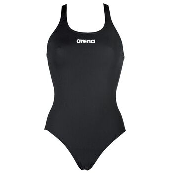 Arena Solid Swim Pro badedrakt dame Svart
