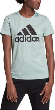 adidas Must Haves Badge of Sport t-skjorte dame Grønn