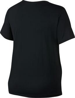 Pro All Over Mesh Plus teknisk t-skjorte dame