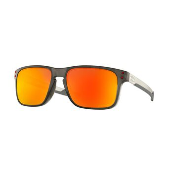 Oakley Holbrook Mix Prizm™ Ruby Polarized - Grey Smoke solbriller Herre Svart