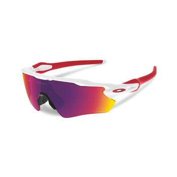 Oakley Radar EV Path Prizm™ Road - Polished White sportsbriller Herre Hvit