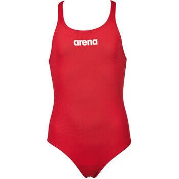 Arena Solid Swim Pro badedrakt barn/junior Rød