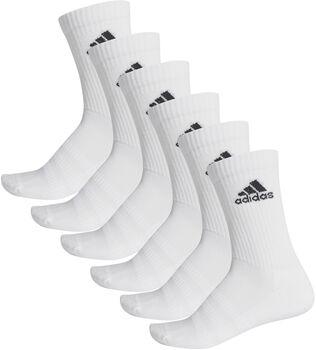 adidas Cush 6-pk tennissokk Herre Hvit